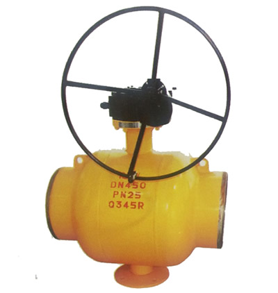 Fully Welded Ball Valve for Heating and Fuel Gas System