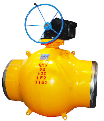 G-type Fully Welded Ball Valve